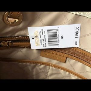 Michael Kors Bags - $198 Michael Kors Jet Set Handbag MK Purse Bag